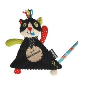 Doudou Deglingos Charlos Simply Le Chat Noir 15cms