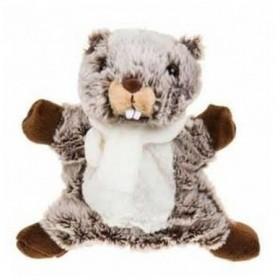 Accueil Histoire d'ours Doudou Histoire d'ours Marmotte Marron marionnette - Studio