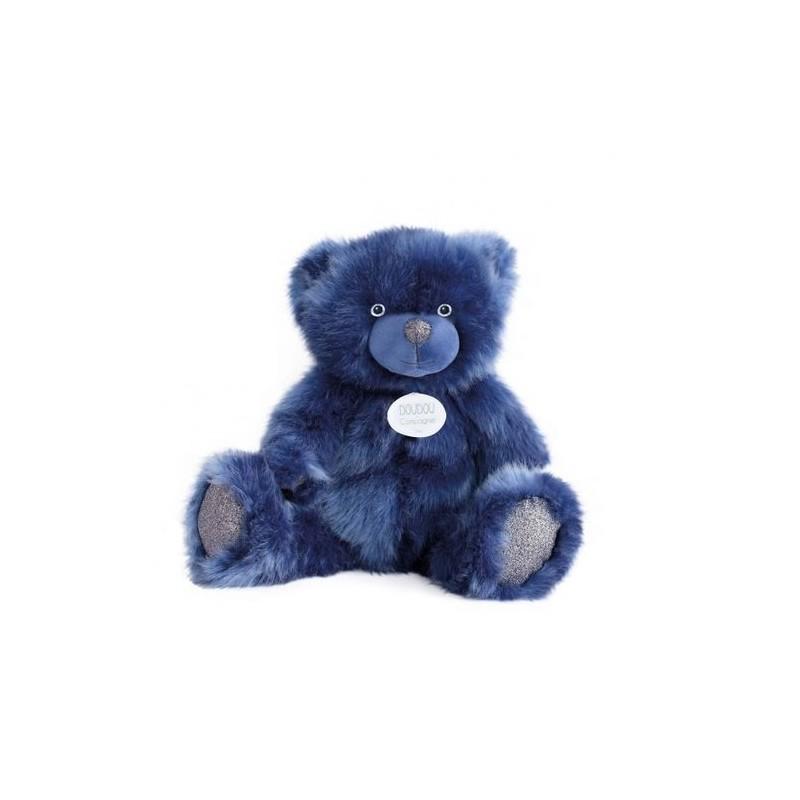 Accueil Doudou et Compagnie Doudou Doudou et compagnie Ours Bleu Pantin - Collection