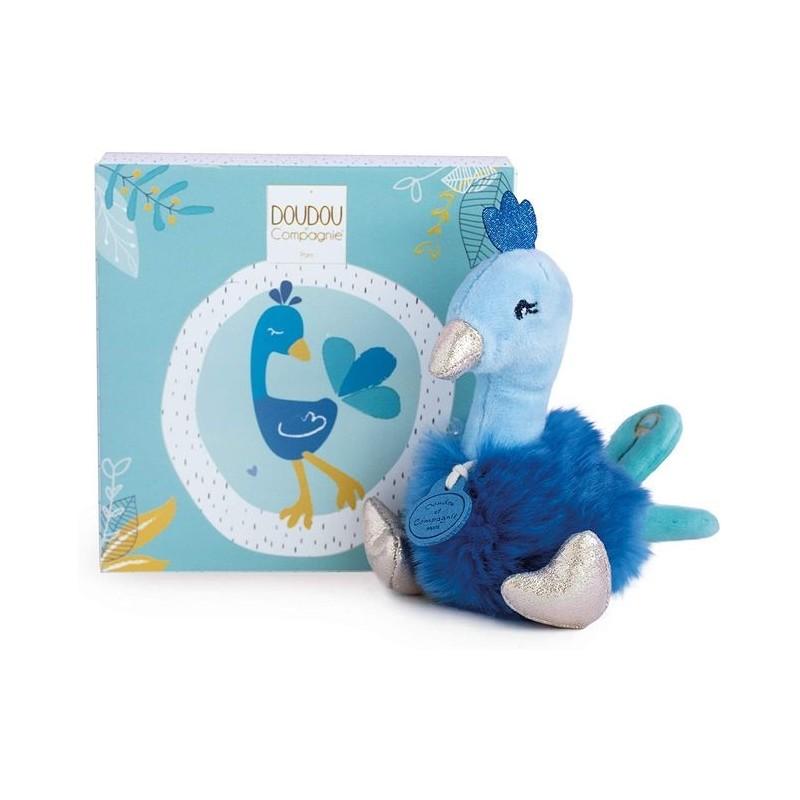 Accueil Doudou et Compagnie Doudou Doudou et compagnie Paon Bleu Pantin - Les Minizoo