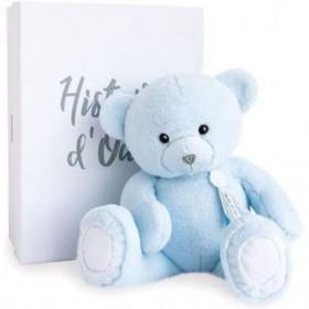 Accueil Histoire d'ours Doudou Histoire d'ours Ours Bleu Pantin - Charms