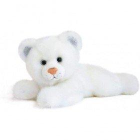 Accueil Histoire d'ours Doudou Histoire d'ours Panthere Blanc Pantin - So chic