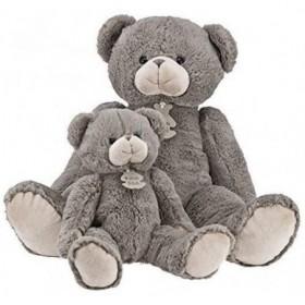 Accueil Doudou et Compagnie Doudou Doudou et compagnie Ours Gris pantin - Calin'ours