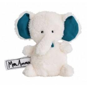 Accueil Deglingos doudou Deglingos Elephant Blanc et Bleu Les P'tites douceurs Pantin