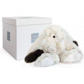 Accueil Histoire d'ours Doudou Histoire d'ours Lapin Blanc Pantin - Ulysse
