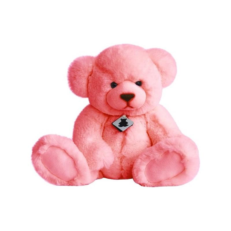Accueil Histoire d'ours Doudou Histoire d'ours Ours Rose Pantin - Blush