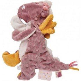 Accueil Noukies Doudou Noukies Dragon Rose Plat - Mia & Victoria