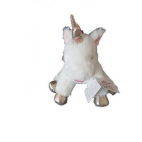 Accueil Babynat Doudou Babynat Licorne Blanc Pantin - Licorne