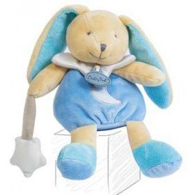 Accueil Babynat Doudou Babynat Lapin Luminescents Bleu Pantin BN0139