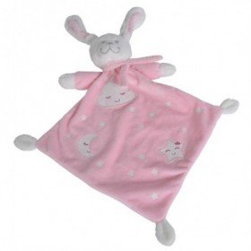 Accueil Nicotoy Doudou Nicotoy lapin Rose Plat - Boone Glow