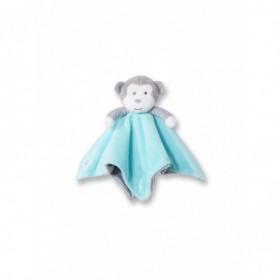 Accueil Obaibi / Okaidi Doudou Obaibi / Okaidi Singe Bleu Rayure bleu et gris Plat -