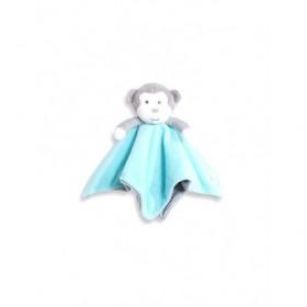 Accueil Obaibi / Okaidi Doudou Obaibi / Okaidi Singe Bleu Rayure grise Plat -