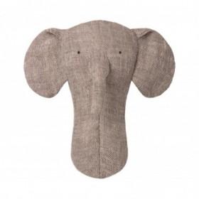 Accueil Maileg doudou Maileg Elephant Gris Noah's Friends Hochet