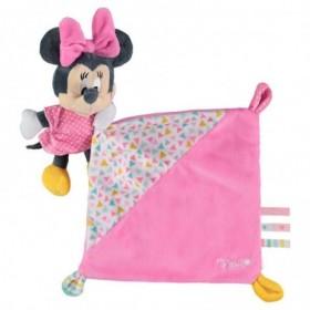 Accueil Disney Doudou Disney Souris Rose Pantin - Minnie