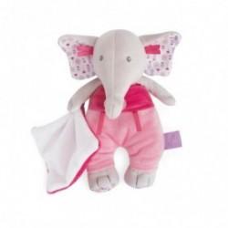 Accueil Babynat Doudou Babynat Elephant Rose Pantin - Edgar & Eglantine