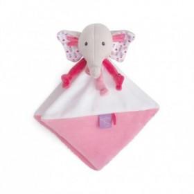 Accueil Babynat Doudou Babynat Elephant Rose Plat - Edgar & Eglantine