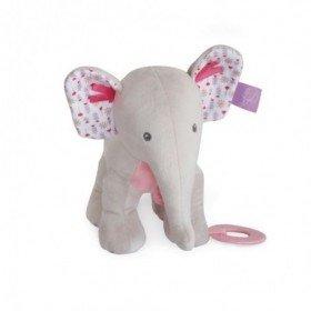 Accueil Babynat Doudou Babynat Elephant Rose Activité - Edgar & Eglantine
