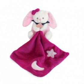 Accueil Babynat Doudou Babynat Lapin Rose Pantin - Les Luminescents
