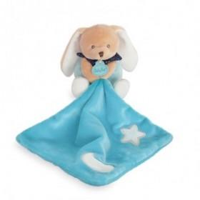 Accueil Babynat Doudou Babynat Lapin Bleu Pantin - Les Luminescents