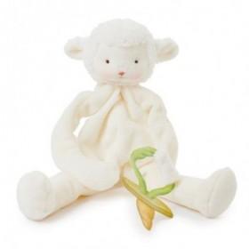 Accueil Z'autres marques Doudou Bunnies by The Bay Mouton Blanc Attache tétine -