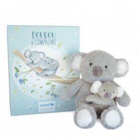 Accueil Doudou et Compagnie Doudou Doudou et compagnie Koala Gris et bebe Pantin - Unicef