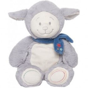 Accueil Noukies Doudou Noukies Mouton Bleu Small Pantin - Guss