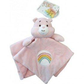 Accueil Z'autres marques Doudou Care Bears Ours Rose Plat - Bisounours