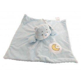 Accueil Z'autres marques Doudou Care Bears Ours Bleu Lune Grosdodo Plat - Bisounours