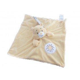 Accueil Z'autres marques Doudou Care Bears Ours Jaune Soleil Grosjojo Plat - Bisounours