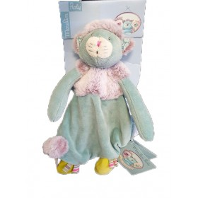 Accueil Moulin Roty Doudou moulin Roty Chat Vert Plat - Les Pachats