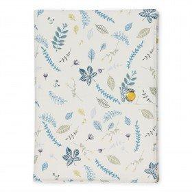 Accueil Camcam Doudou CamCam Bleu Carnet de Sante Accessoire - Leaves Blue