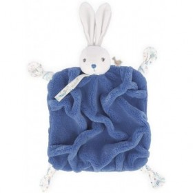 Accueil Kaloo Doudou Kaloo Lapin Bleu Plat - Plume