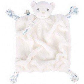 Accueil Kaloo Doudou Kaloo Ours Blanc Plat - Plume