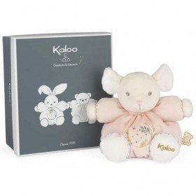 Accueil Kaloo Doudou Kaloo Souris Rose 18 cm Pantin - Perle