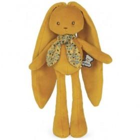 Accueil Kaloo Doudou Kaloo Lapin jaune 25 cm pantin - Lapinoo