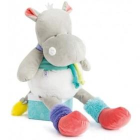 Accueil Doudou et Compagnie Doudou Doudou et compagnie Hippopotame Blanc XL Pantin - Tropicool