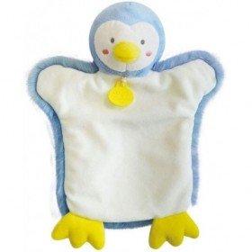 Accueil Doudou et Compagnie Doudou Doudou et compagnie Pingouin Bleu marionnette - Autour du Monde