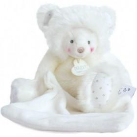 Accueil Doudou et Compagnie Doudou Doudou et compagnie Ours Blanc avec mouchoir Pantin - Trop Mimi