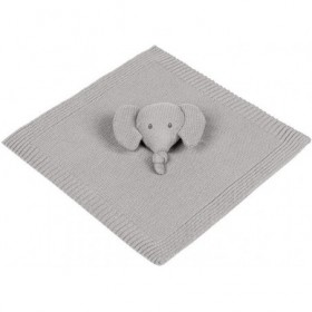 Accueil Nattou Doudou Nattou Elephant Gris Tricot Plat - Tembo