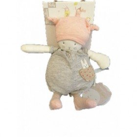 Accueil Moulin Roty Doudou Moulin Roty Chat Gris Moon Musical - Les Petits Dodos