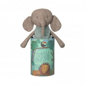 Accueil Maileg doudou Maileg Elephant Gris Jungle Friends Pantin