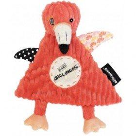 Accueil Deglingos Doudou Deglingos Flamant Rose Plat - Flamingos