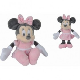 Accueil Disney Doudou Disney Souris Rose Tonal 25 cm pantin - Minnie