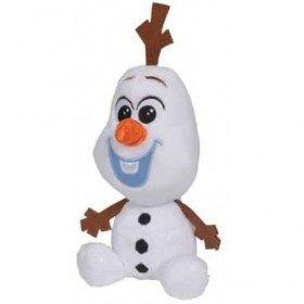 Accueil Disney Doudou Disney Personnage Blanc Olaf Bonhomne de neige 15 cm pantin - Reine des Neiges