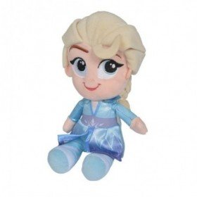 Accueil Disney Doudou Disney Poupée Bleu Elsa pantin - Reine des Neiges