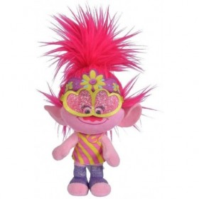 Accueil Disney Doudou Disney Personnage Rose Poppy Rock pantin - Trolls World Tour