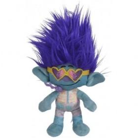 Accueil Disney Doudou Disney Personnage Bleu Branche Rock pantin - Trolls World Tour