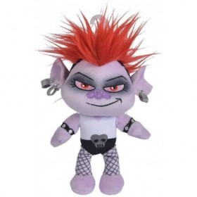 Accueil Disney Doudou Disney Personnage Noir Barb pantin - Trolls World Tour