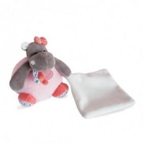 Accueil Babynat Doudou Babynat Hippopotame Rose Pantin - Zoé