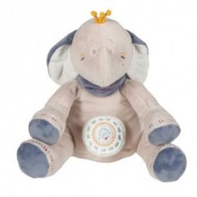 Accueil Noukies Doudou Noukies Elephant Bleu Musical - Bao & wapi